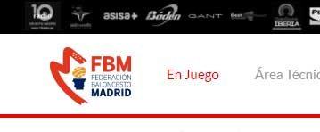 Buscador de Competiciones para la Federación de Baloncesto de Madrid en la Web