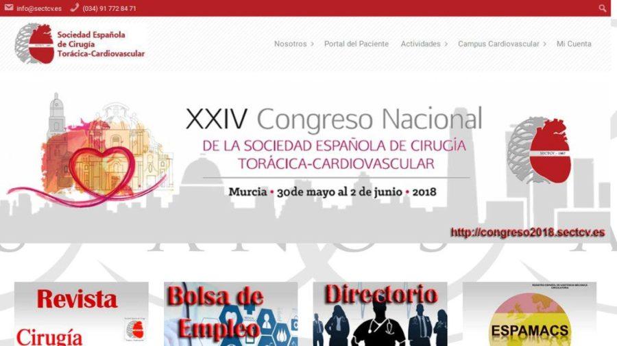 Portal Web de la Sociedad Española de Cirugía Torácica y Cardiovascular