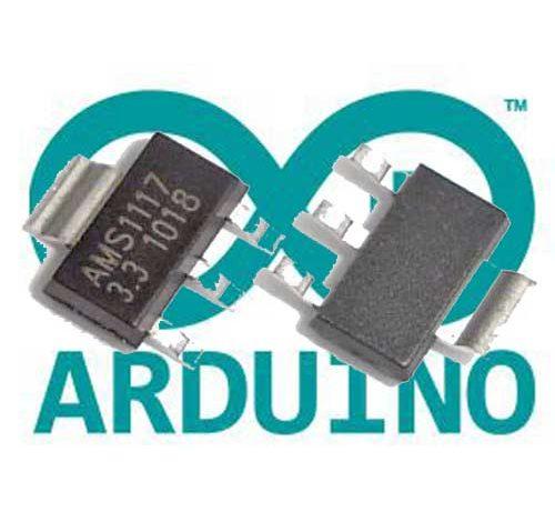 Conversión de Arduino a 3,3V